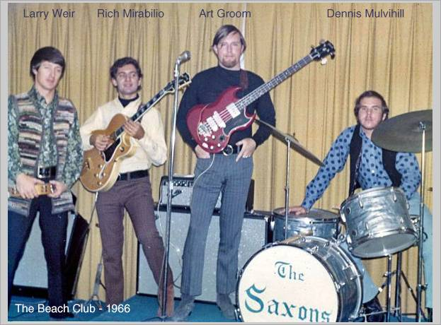 The Saxons at The Beach Club