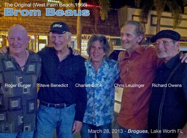 The Brom Beaus reunion 2013